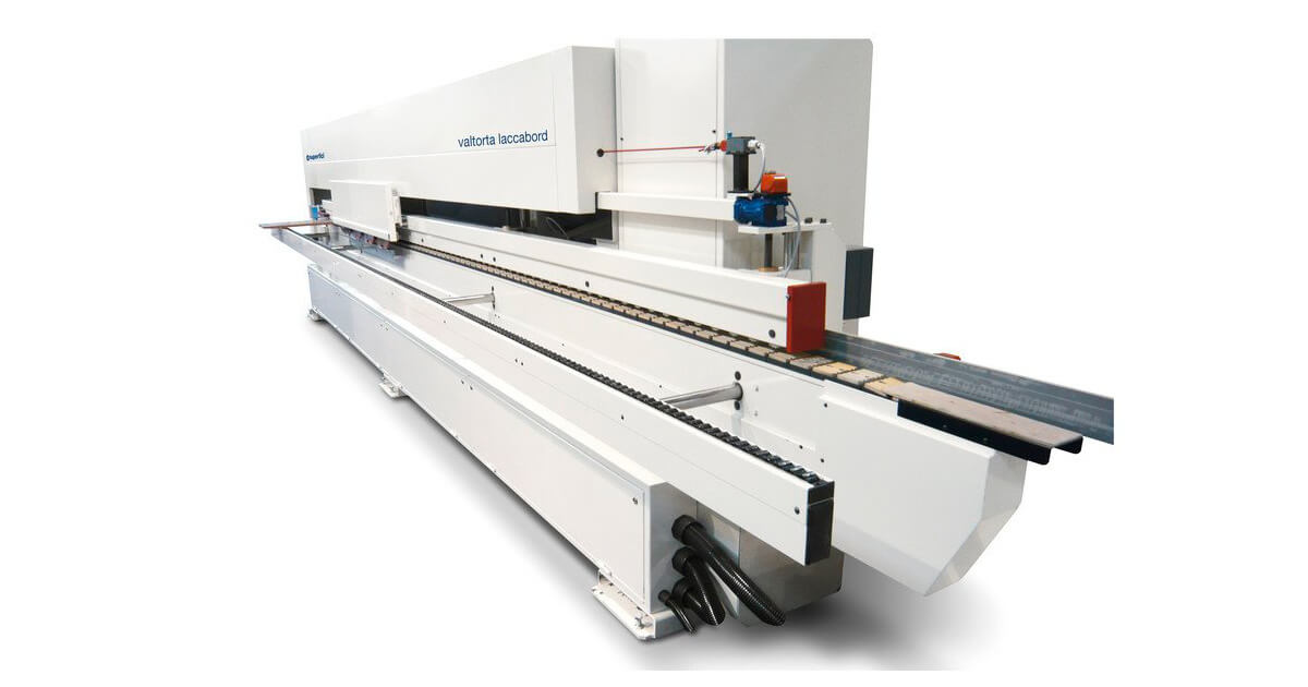 Barnizadora de cantos industrial para madera SCM en venta en España