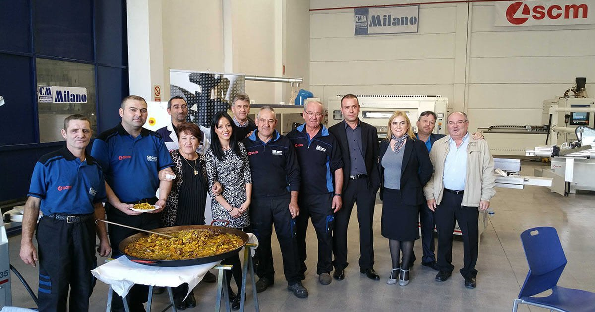 Jornada de Puertas Abiertas en Maquinaria para la madera Milano 2015