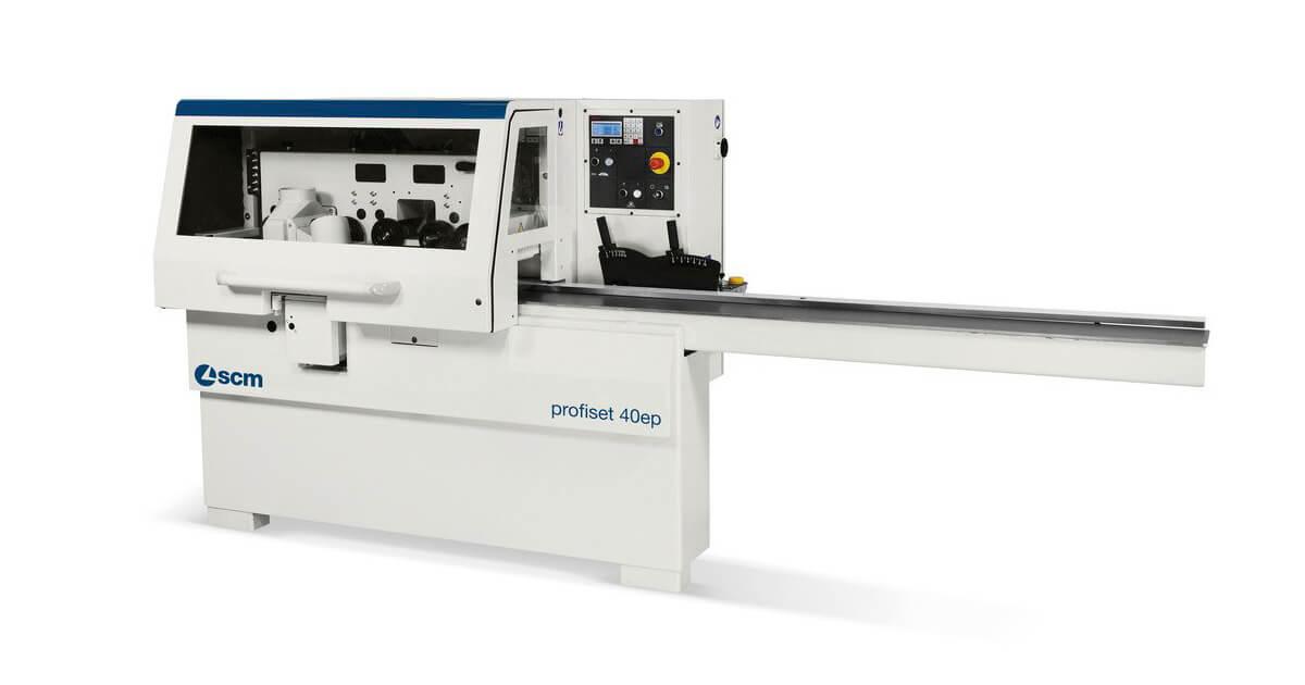 Cepilladora perfiladora automatica para carpinterias de madera SCM en venta en España