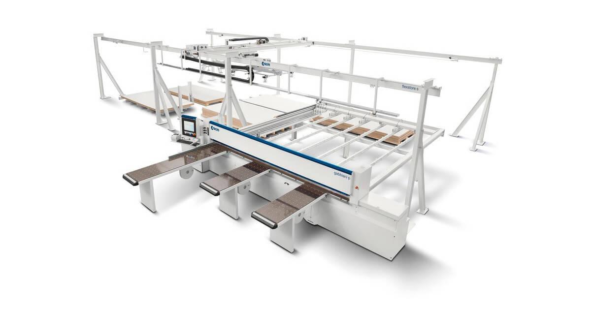 Máquina Seccionadora para madera nueva marca SCM