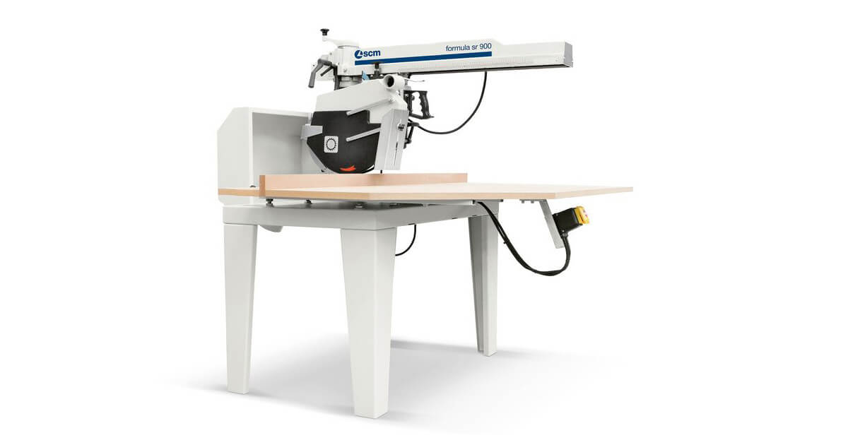 Sierra Radial para carpintería de madera y artesanos ebanistas marca SCM en venta España