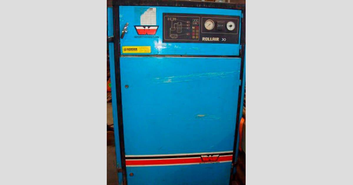 Compresor de tornillo marca Wortintong