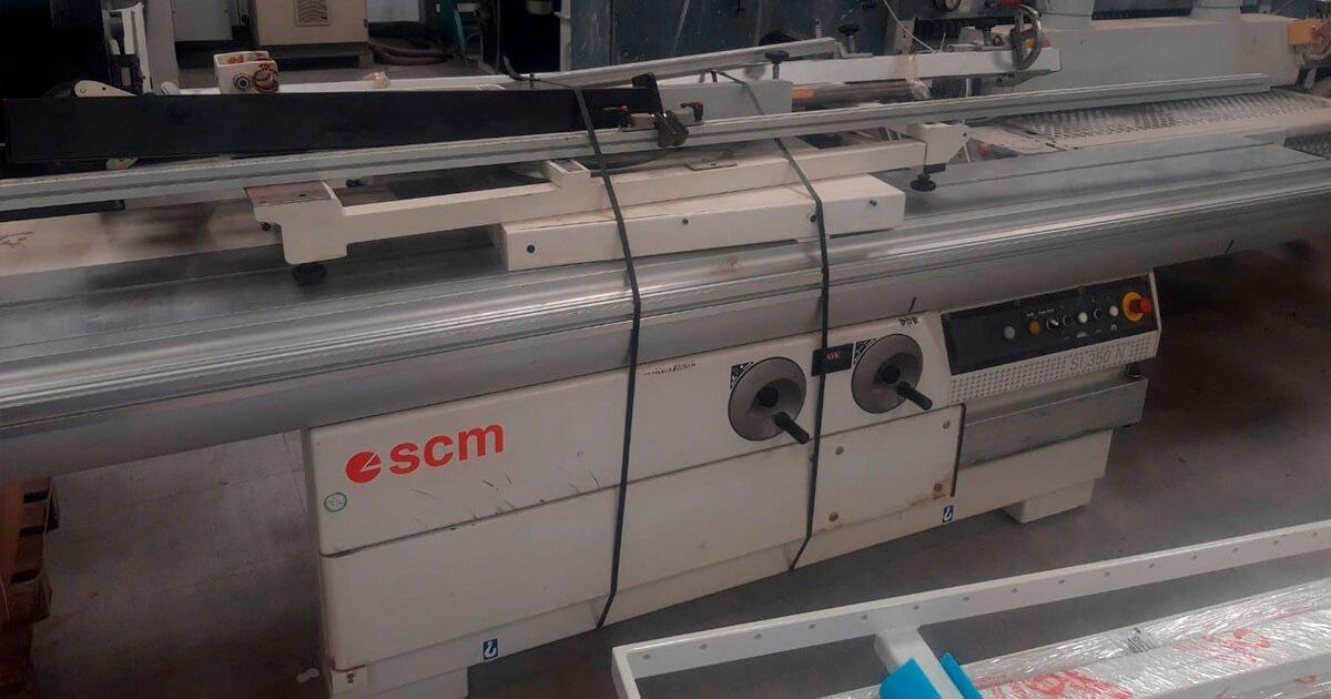 Escuadradora scm si350n