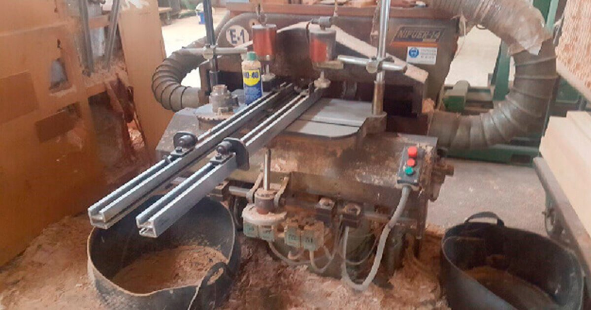 Espigadora de segunda mano para madera a la venta en España