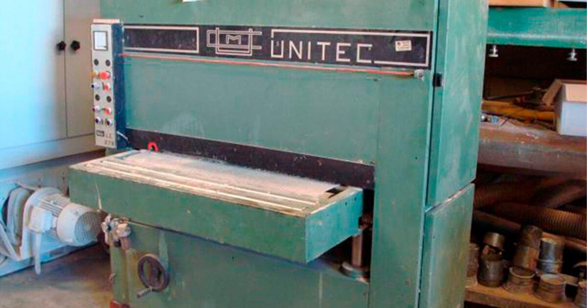 Lijadora contacto marca Unitec modelo 1100 R
