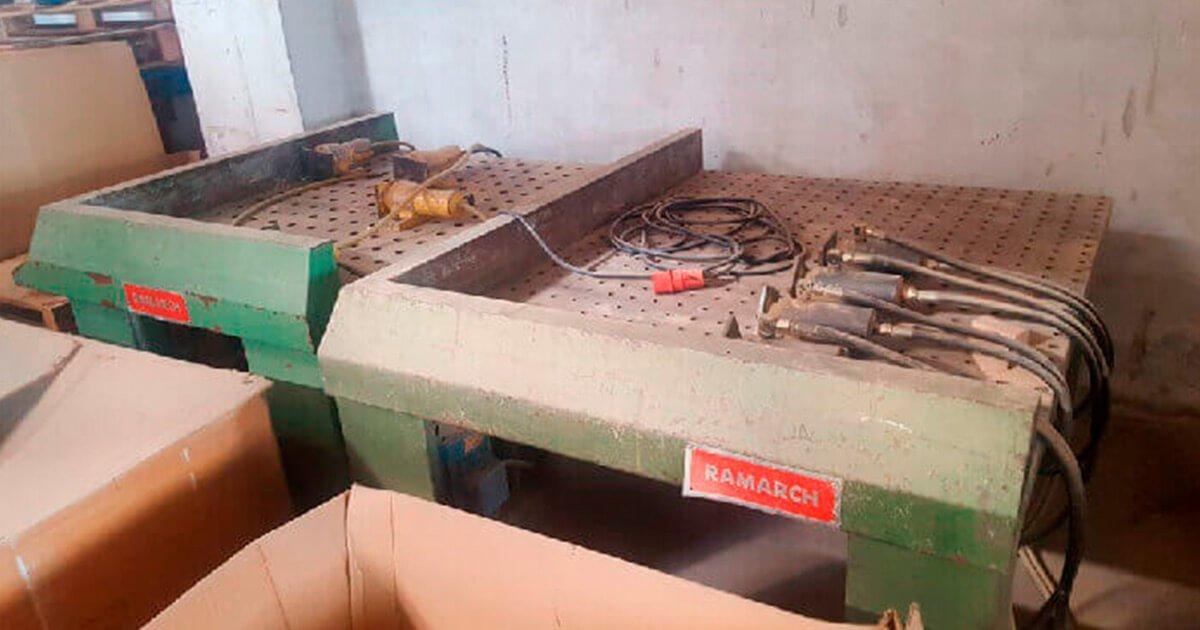 Prensa de montaje de segunda mano para madera a la venta en España