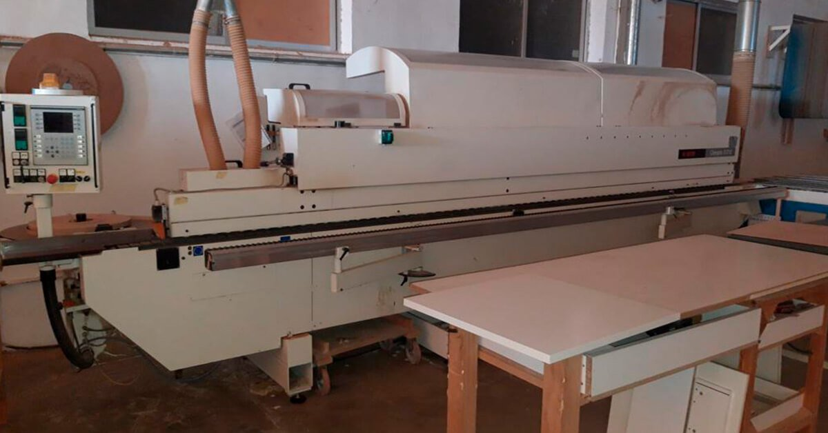 Chapadora de cantos de ocasión para madera a la venta en España
