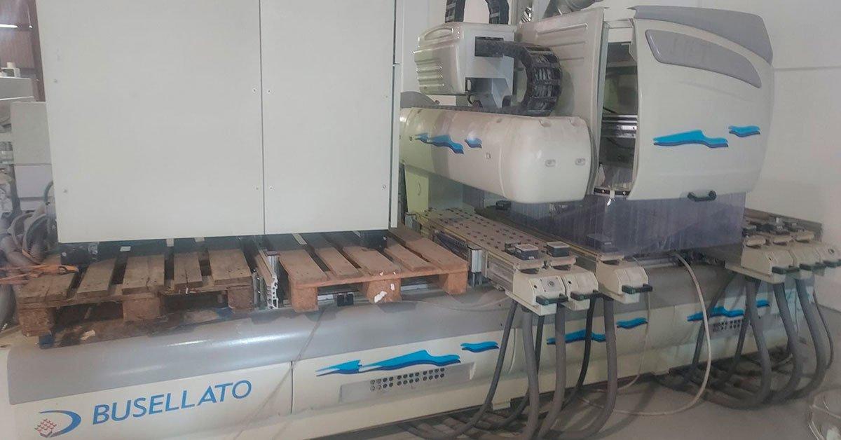 Centro de trabajo busellato modelo jet2